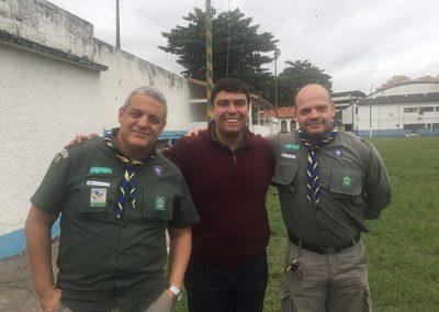Visita ao 64 GE Lourival Gomes de Andrade