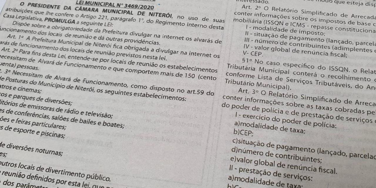 2020 começa com duas novas leis de Bruno Lessa promulgadas