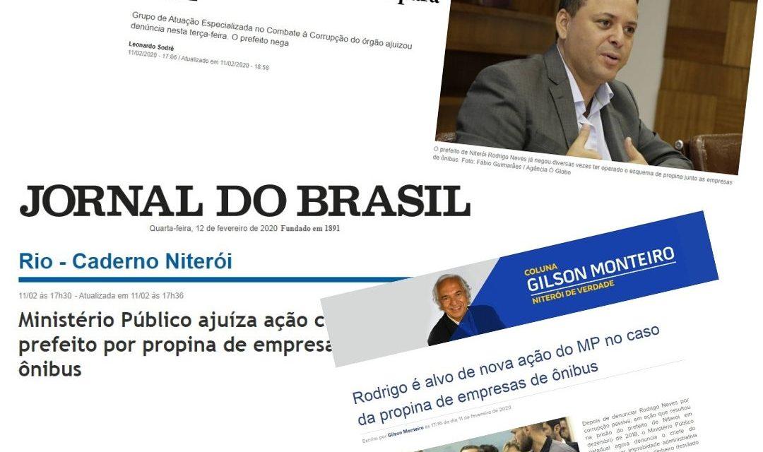 Mais uma vez, Niterói vai para as manchetes dos jornais por corrupção
